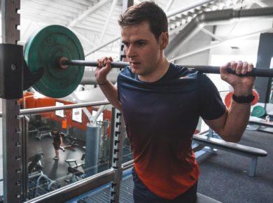 качаем мышцы трапеции